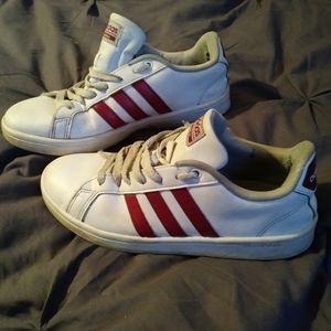 Adidas w/ red stripes